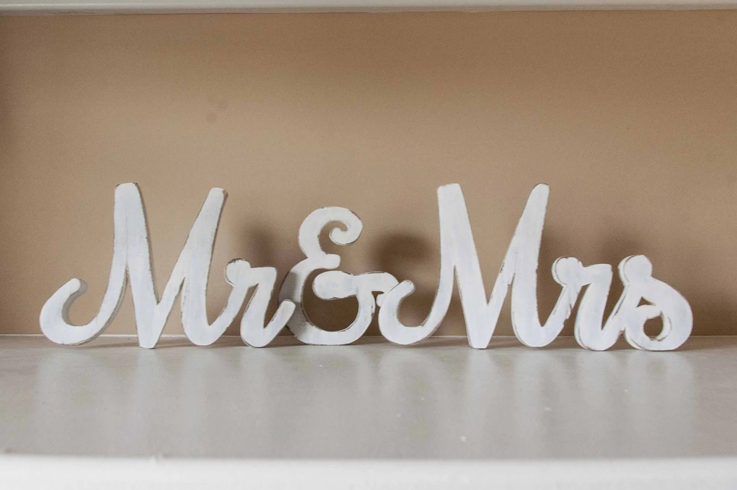 Mr And Mrs Wedding Sign Wood Wedding Sign Sweetheart Table