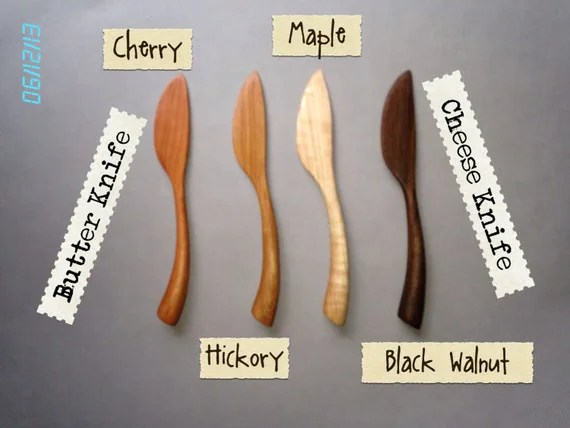 Butter Knife, Cheese Knife, Spreader CHERRY
