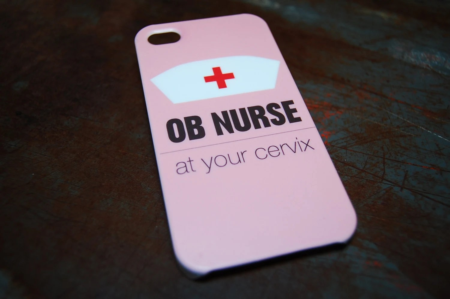Ob Nurse At Your Cervix Hard Case For Iphone 6 4 7 4 7