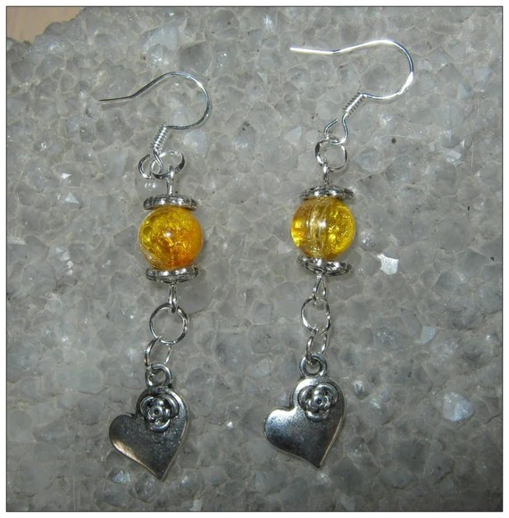 Crackled Amber, Heart & Update