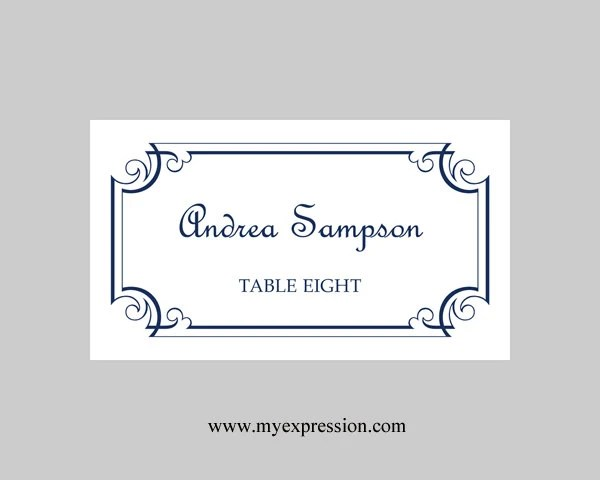 Avery Template 5302 Small Tent Cards