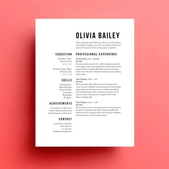 Common Resume Format Errors