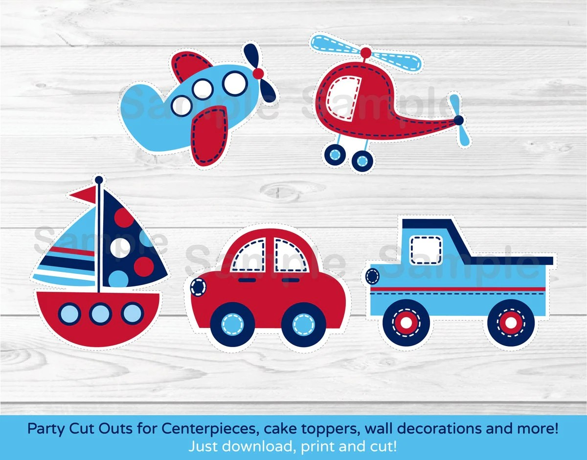 Transportation Cut Outs Vehicle Cut Outs Car Truck