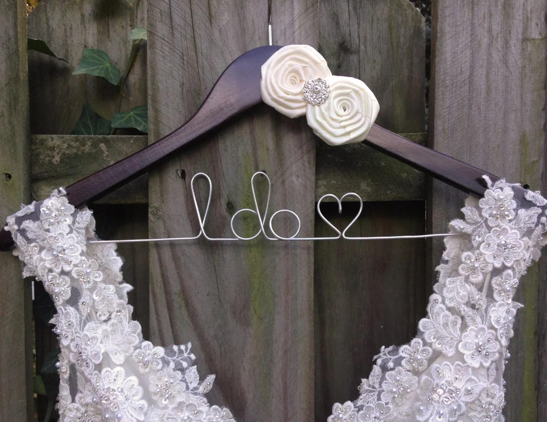 Bride Hanger Bridal Hanger Wedding Dress Hanger