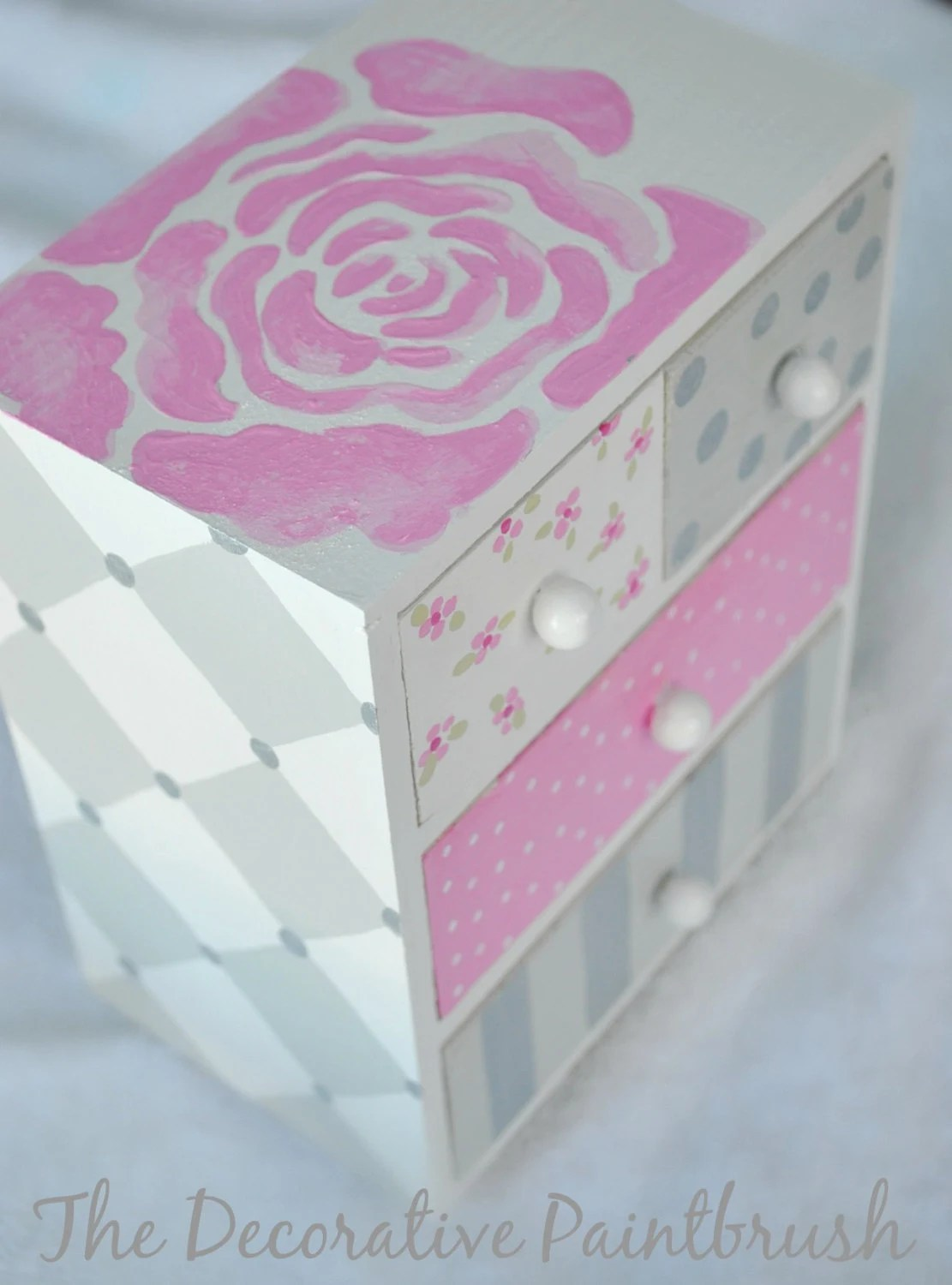 Jewelry Box, Personalized Gift, Flower Girl Gift, First Communion Gift, Child's Jewelry Box, Custom Designed Jewelry Box, - TheDecorativeBrush