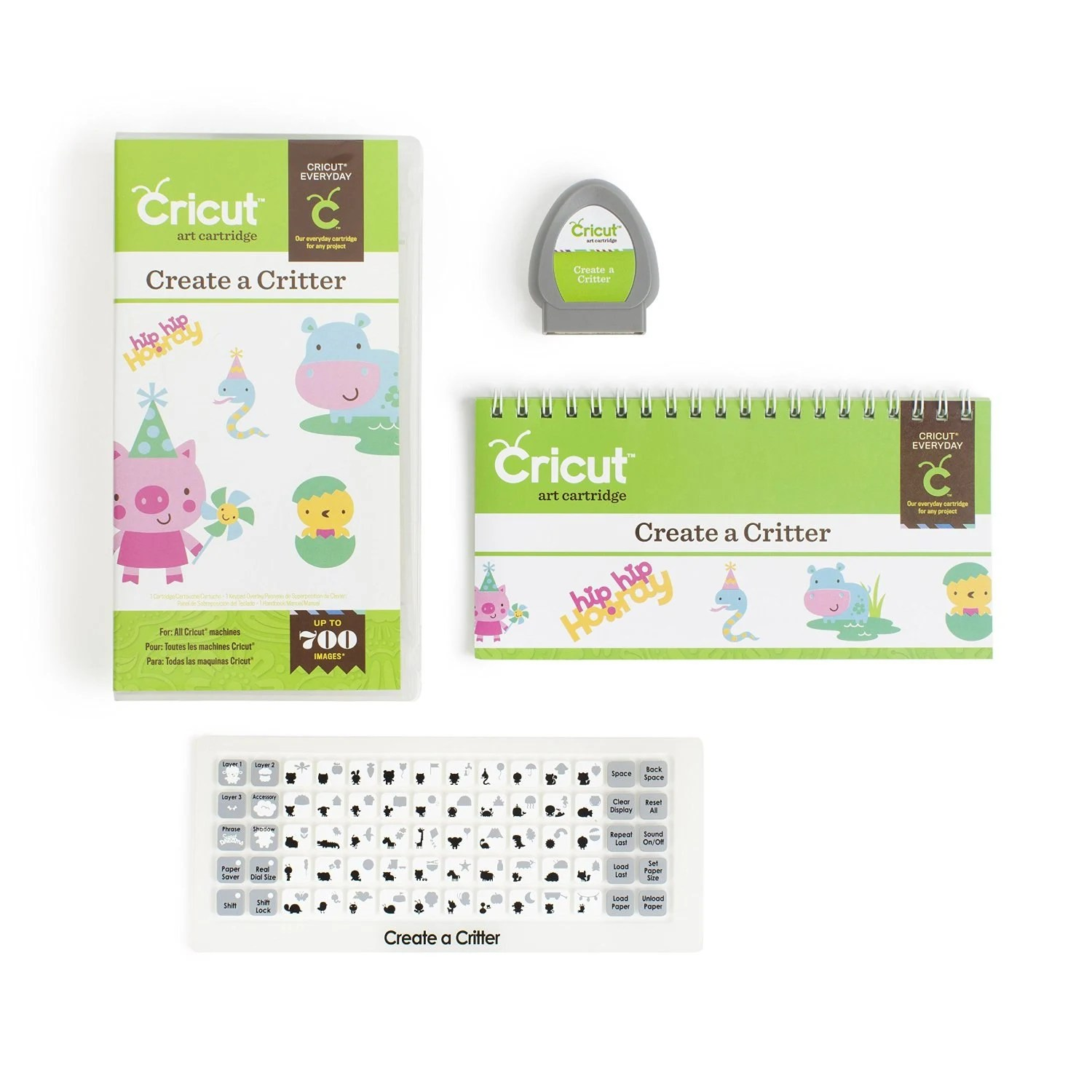 Critter Create 2 Cricut Cartridge