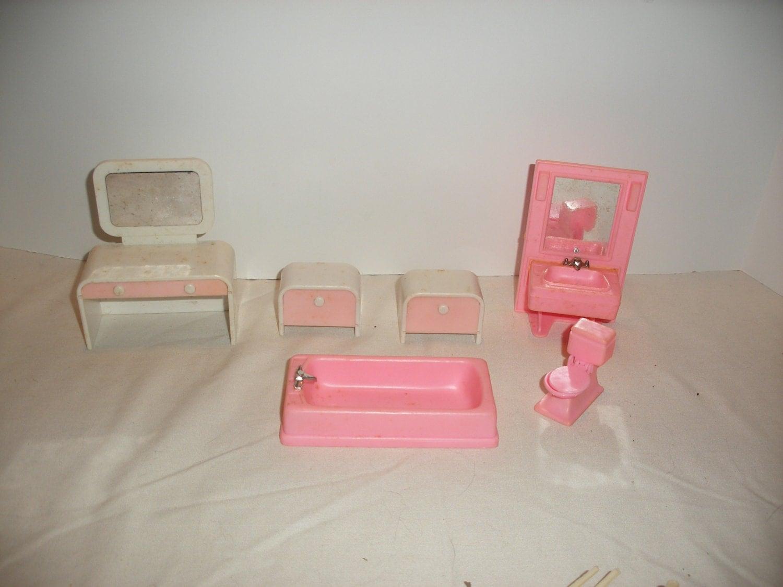 Vintage Plastic Doll House Furniture Tm314 108 Haute Juice