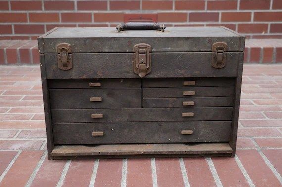 Kennedy Tool Box For Side Cabinet
