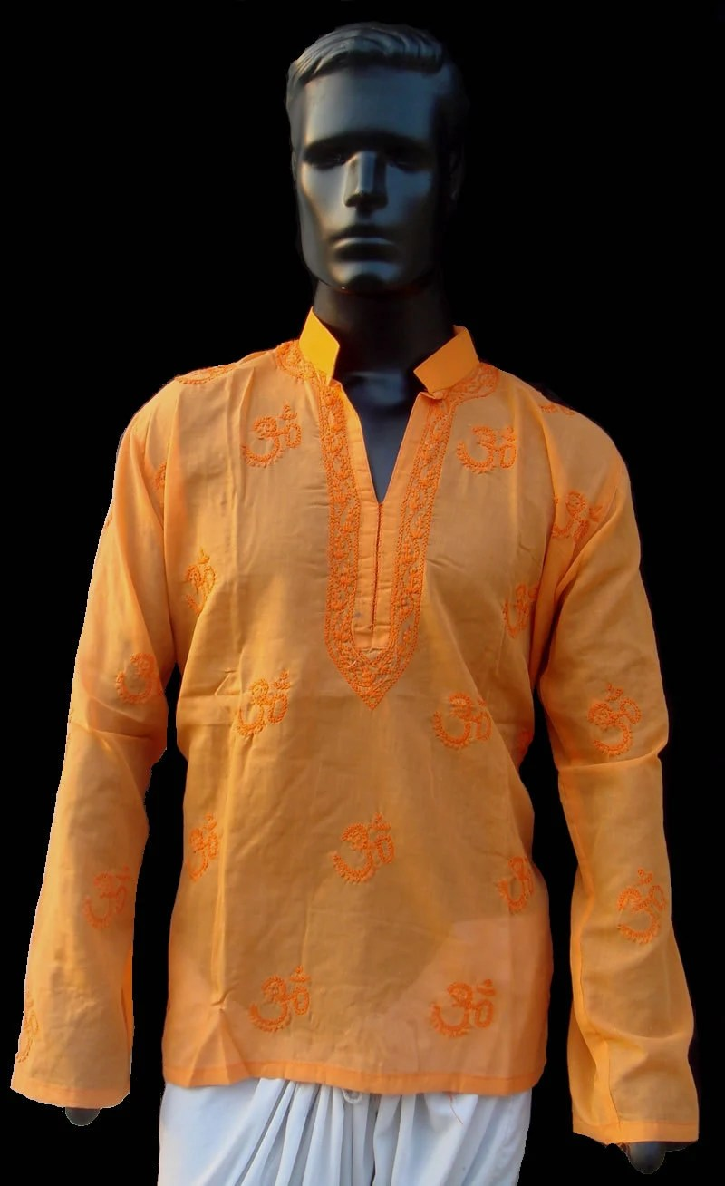 Christmas Dress Kurta Shirt Gift Mens Cotton By