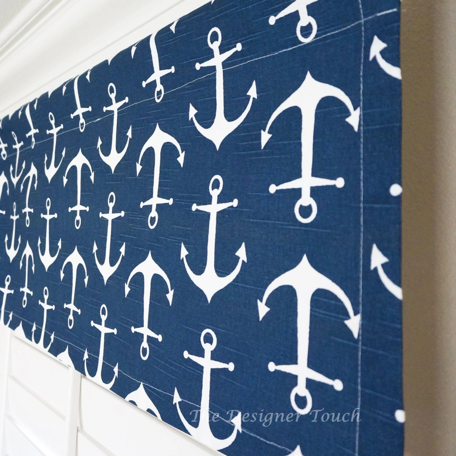 Navy Blue Window Valancevy Valances Nautical