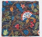 Jacobean Rug Hooking Pattern