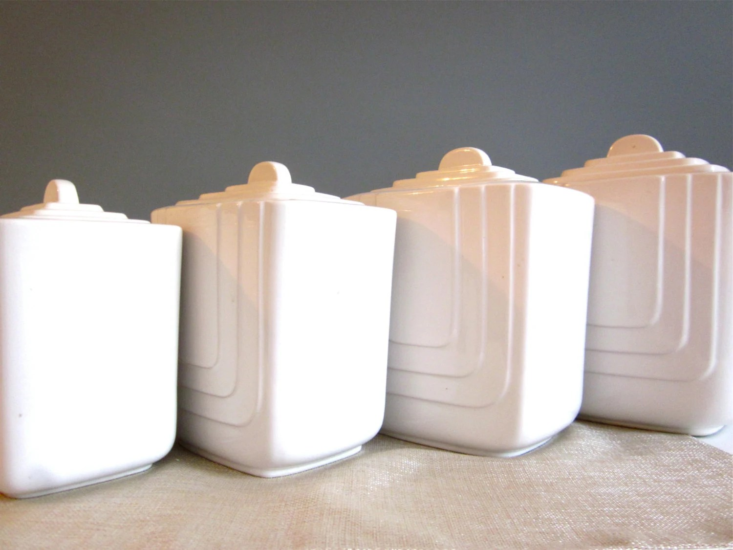 Pottery Ceramic Canisters Sets Compare