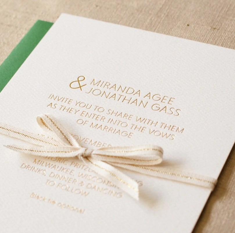 Customizable Wedding Stationery