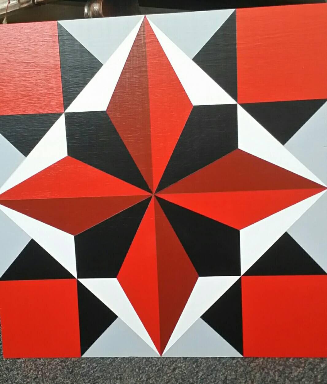 Carpenters Wheel Quilt Block Pattern