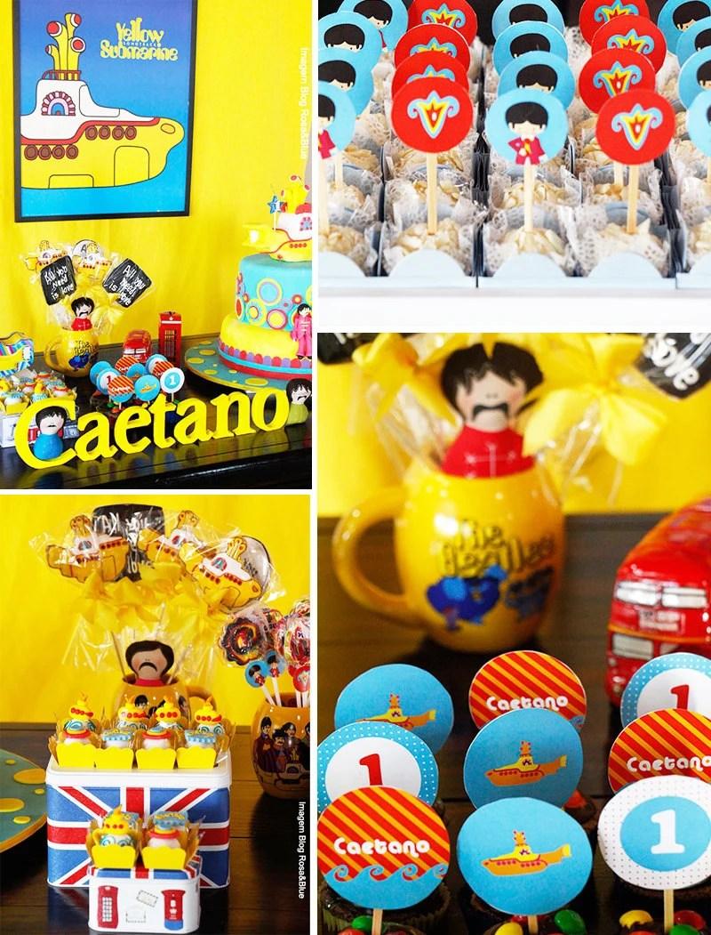 Yellow Submarine Party Decorations