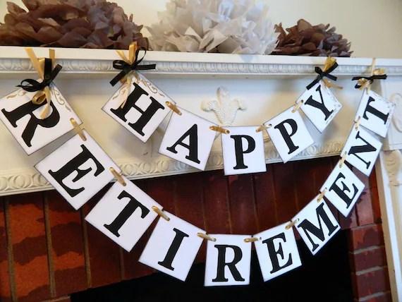 Happy Retirement Party Decorations