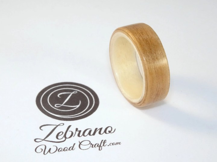 Wooden Ring Made with Che...