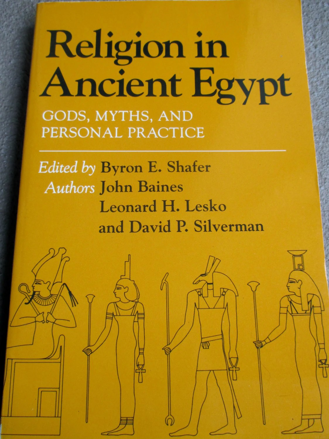Religion In Ancient Egypt Gods Myths And Personal By