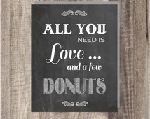 Download Popular items for doughnut sign on Etsy
