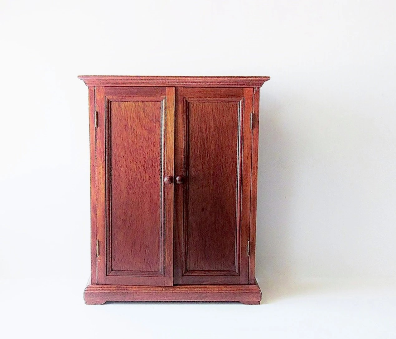 Cherry Wood Armoire Wardrobe