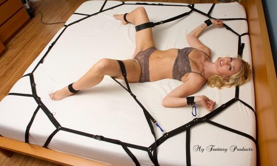 leather spreader sling straps