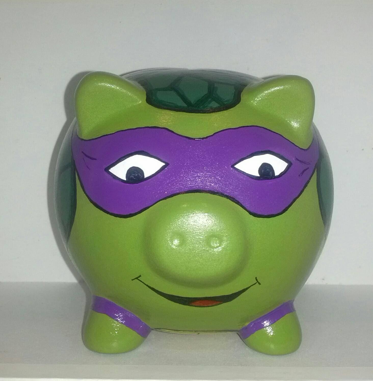 Ninja Turtle Piggy Bank