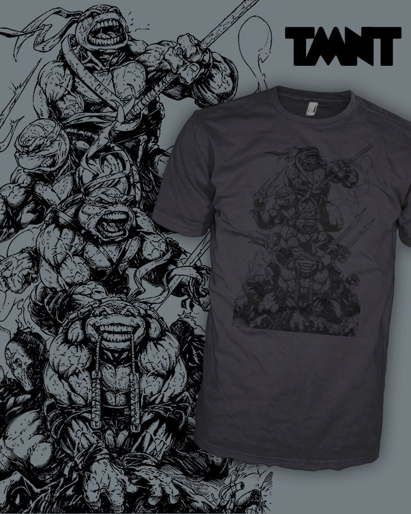 Tmnt Eastman And Laird T Shirt