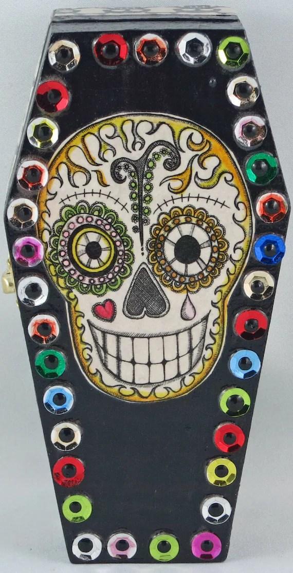 El Dia De Los Muertos Coffin Toys
