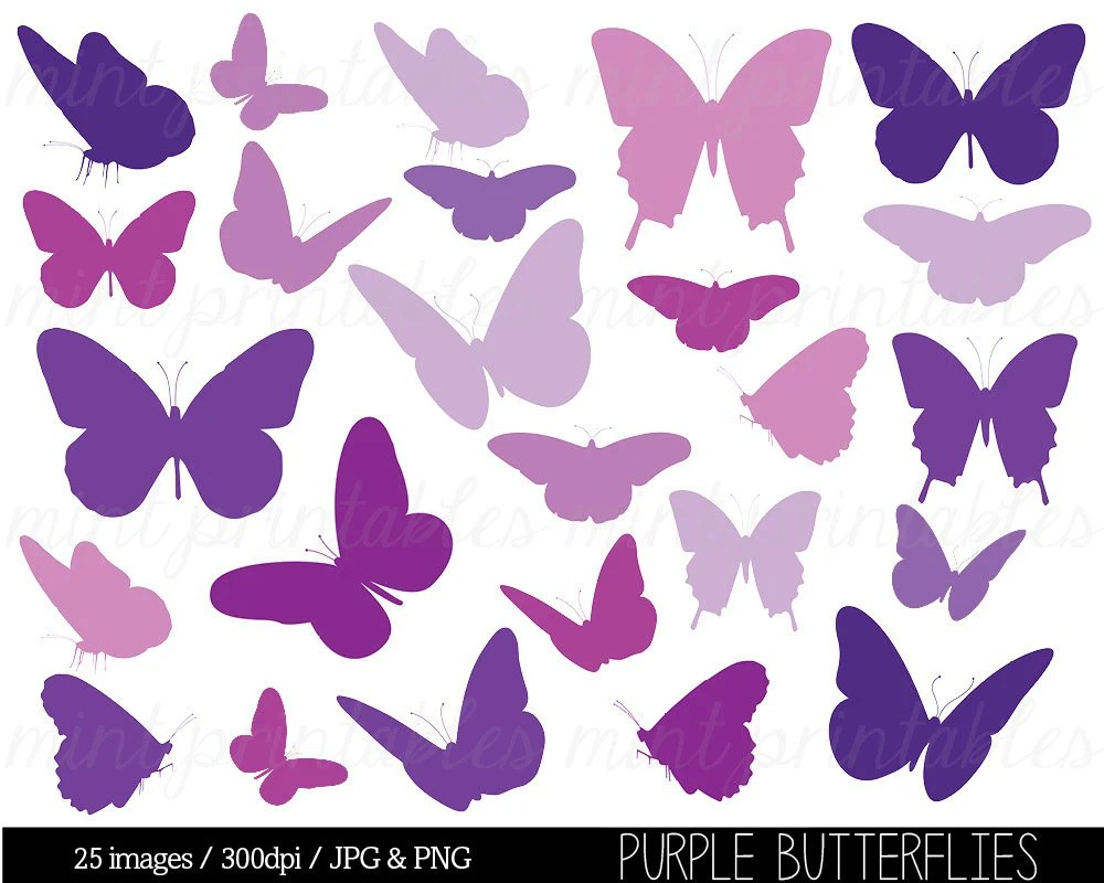 Butterflies Baby Announcements