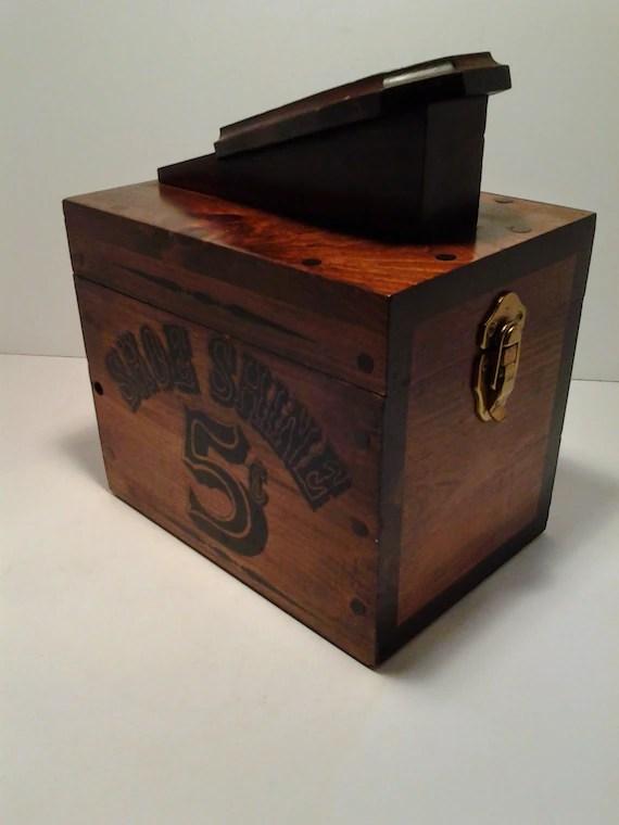 Shoe Shine Box 5 Cent Shoe Shine Box With Brushes Waxes