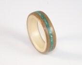 Bent Wood Ring Walnut & S...