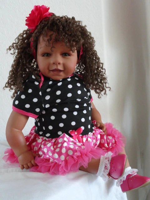 Reborn 22 BiracialHispanicEthnic Toddler Girl Doll