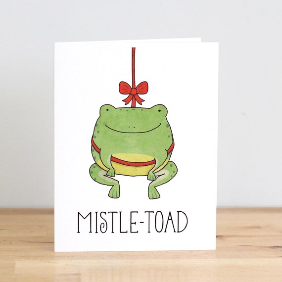 Items Similar To Mistle Toad Mistletoe Toad Frog