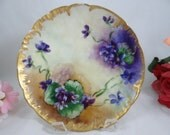 1880s Hand Painted Limoge...