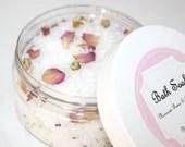 All Natural Moroccan Roses & Chamomile Bath Salts, Bath Soak, Foot Soak, Spa Kit, Gift, Mother's Day