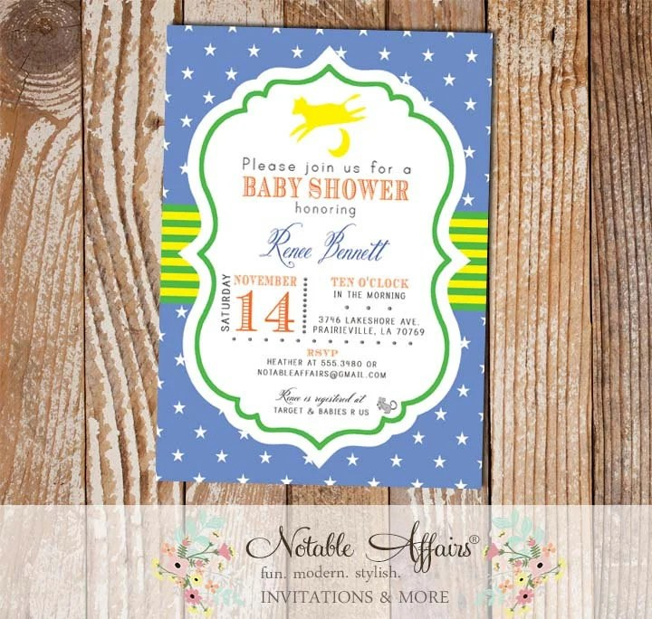 Baby Shower Invitations Etsy