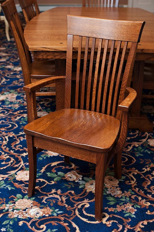 Mission Style Oak Chairs