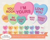 valentine heart candy clipart