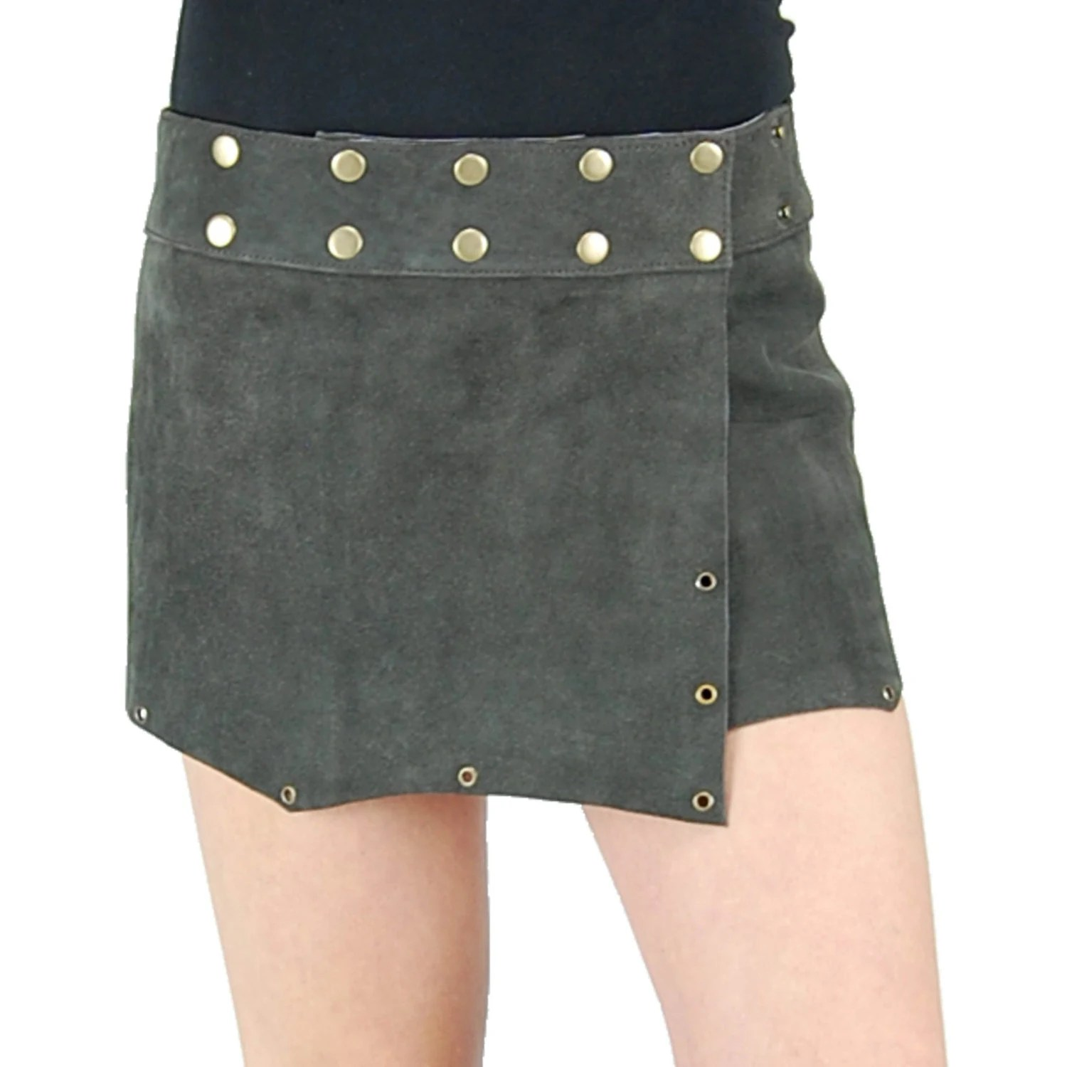 Skirt Native Leather American
