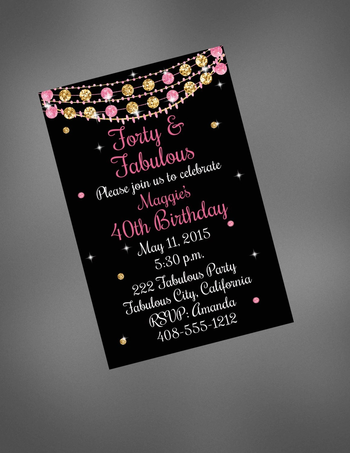 Kinkos Custom Invitations