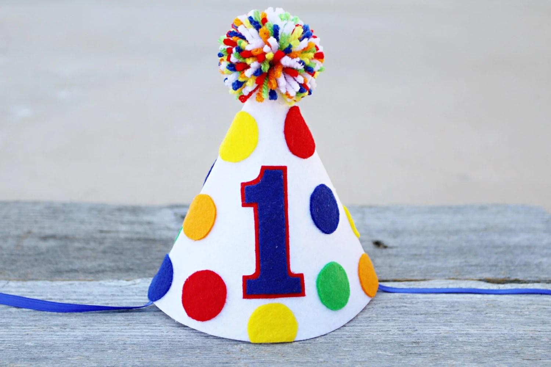1st Birthday Hats Boys