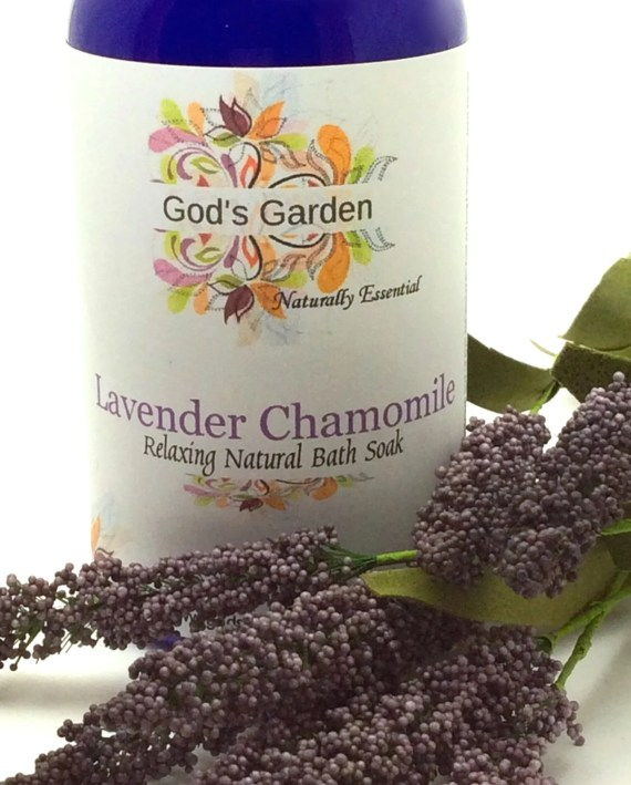 God's Garden|Lavender Chamomile Relaxing Natural Bath Soak