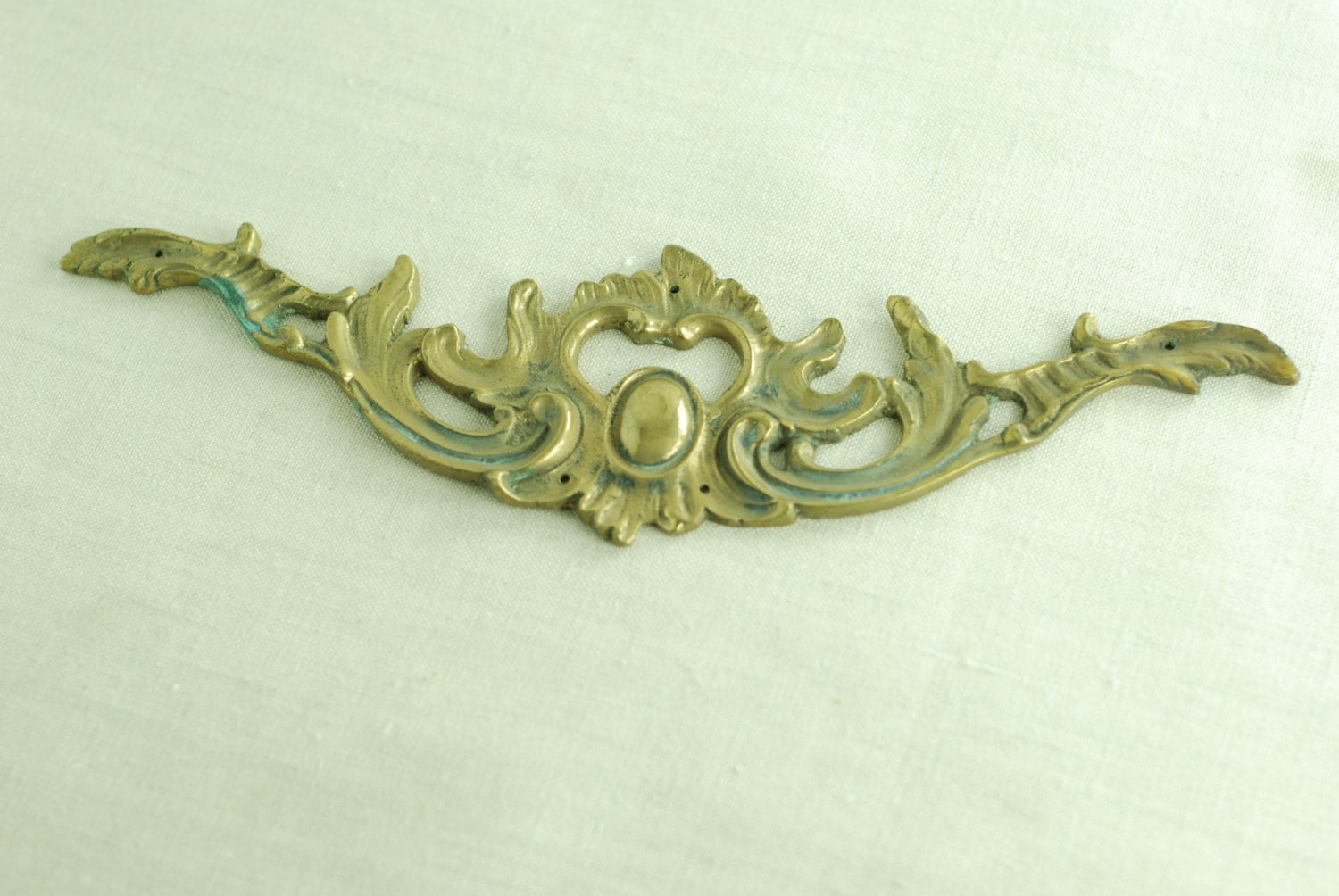 El109 Antique Decorative Furniture Hardware Leaf And Scroll Design French Reproduction