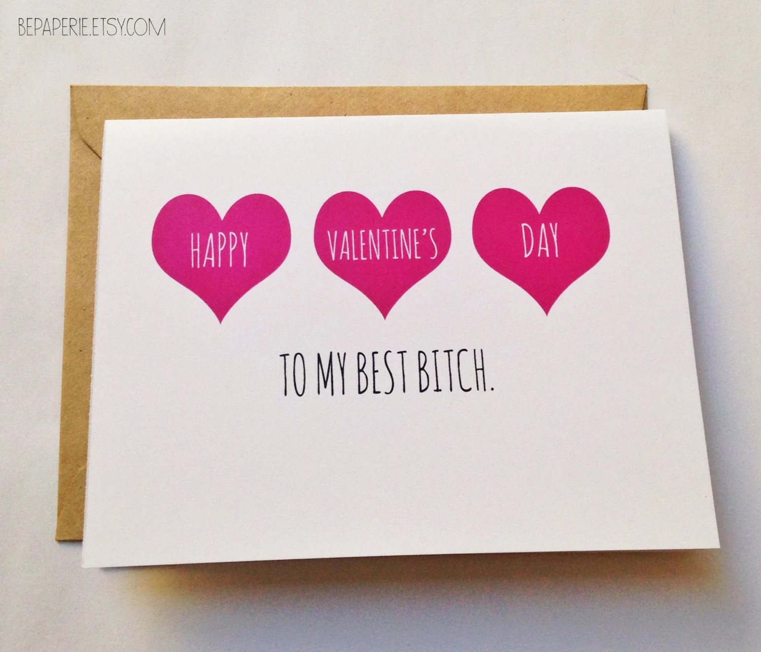 Friend Valentines Day Card Best Friend Valentine