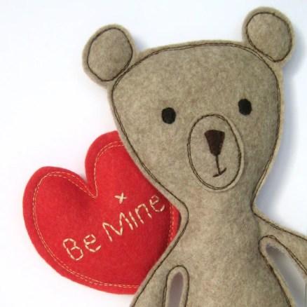 Valentine Teddy Sewing Pattern