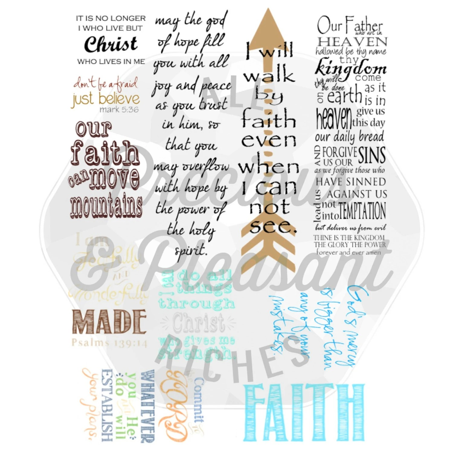Bible Journaling Printable Add In File By Reclaimedfaith