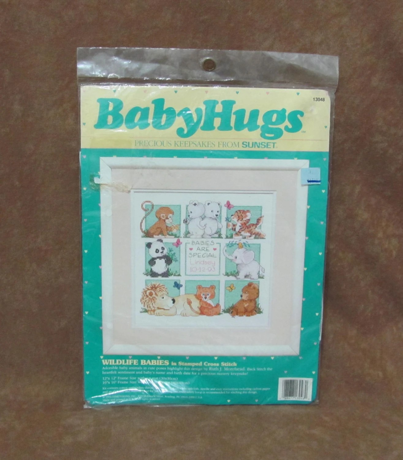 Stamped Embroidery Pillowcase Kits