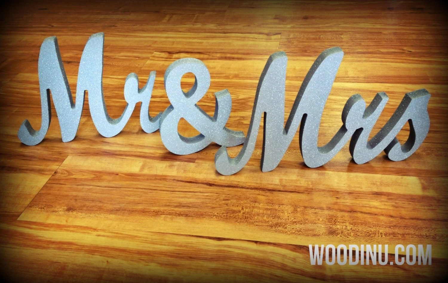 Mr And Mrs Wedding Free Standing Signs Mr And By