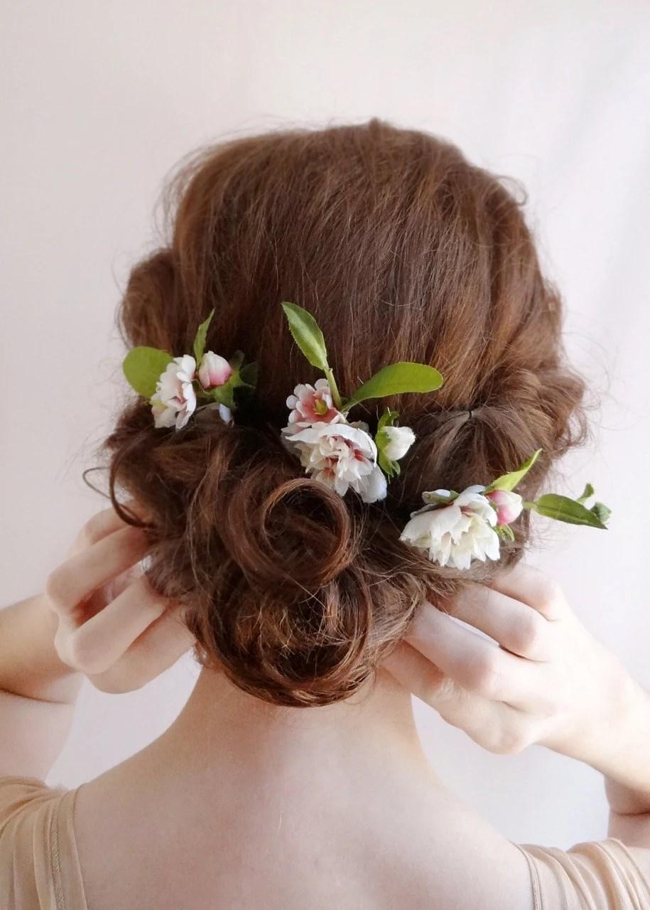 Braut Haar Blume Blume Haarnadeln Hochzeit Von
