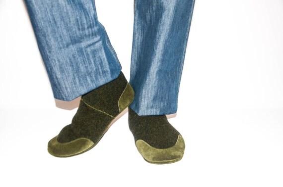 Mens Socks Slippers Soles